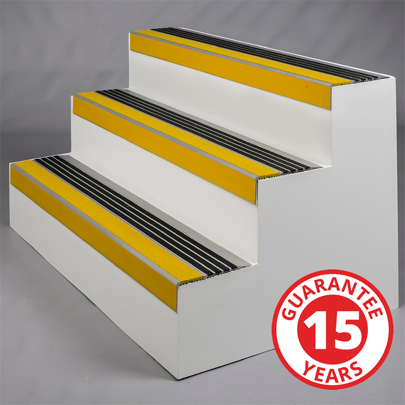 SlipGrip Precision Aluminium Anti Slip Stair Tread Covers