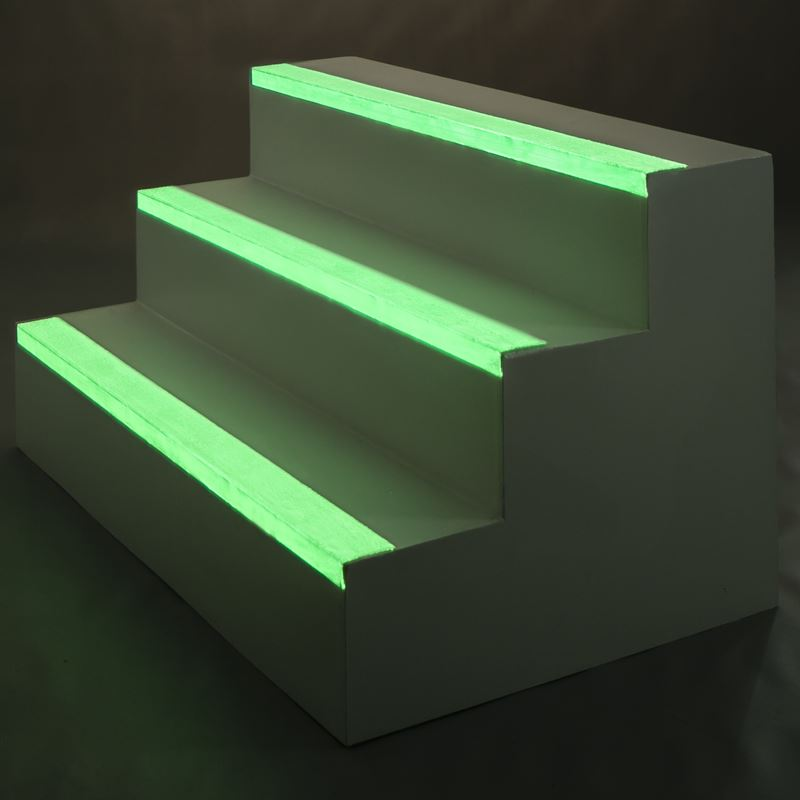EdgeGrip Safety Glow Stair Nosings