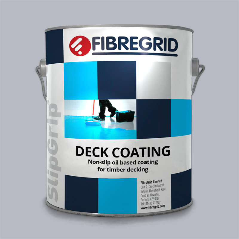 SlipGrip Anti Slip Deck Coating For Wooden Decking