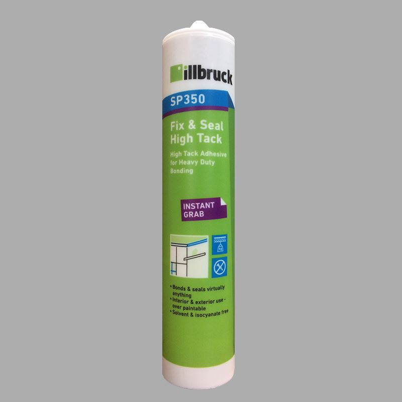 SP350 - Fix & Seal High Tack Adhesive 310ml White