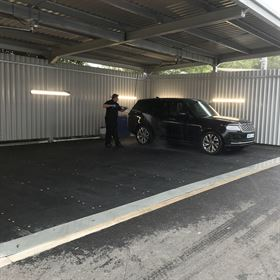 GRP Car Wash Down Bays
